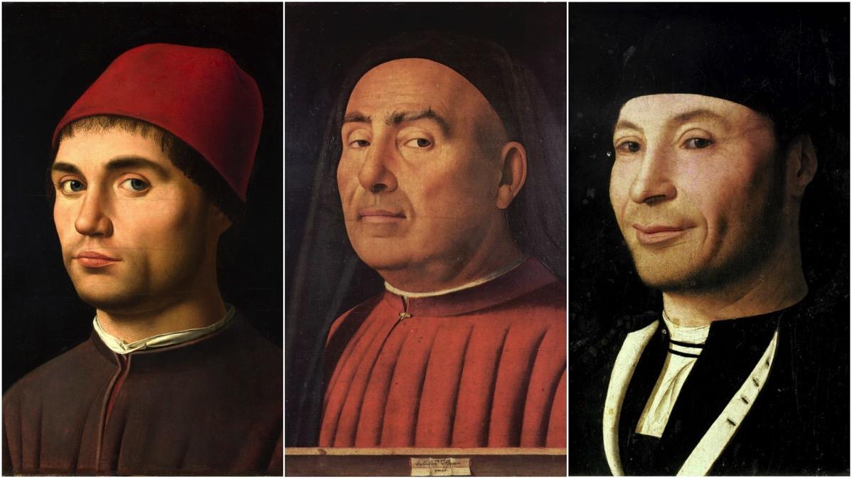 Antonello da Messina collage 3